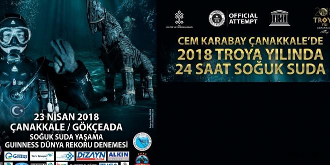 2018 TROYA YILI'NDA DÜNYA REKORU KIRILACAK