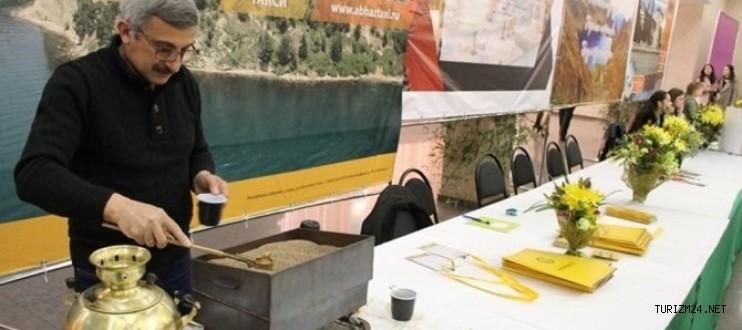 Abhazya 'daki ilk turizm fuarına Türkiye'den bir çok turizmci katıldı