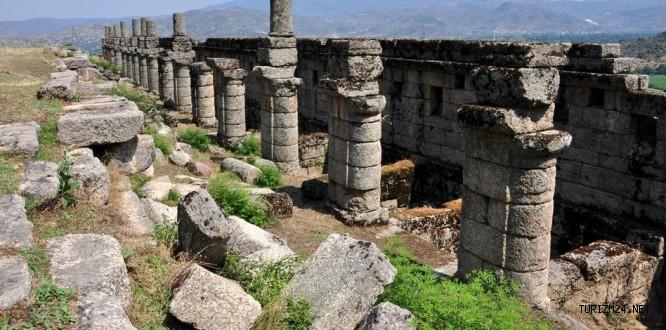 Alinda Antik Kenti Kültür Turizmine kazandırılacak