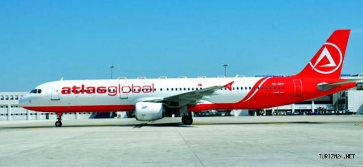 Atlasglobal Havayolları Rusyadan 2 milyon yolcu taşıması için imza attı
