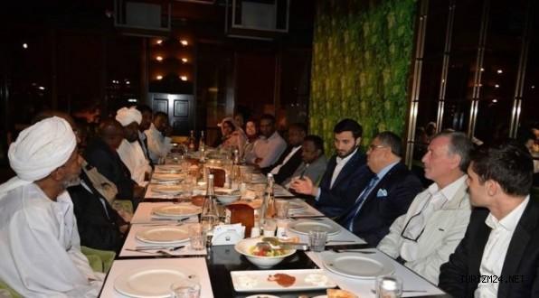 Başkan Yağcı, Sudandan gelen  misafirlerini ağırladı
