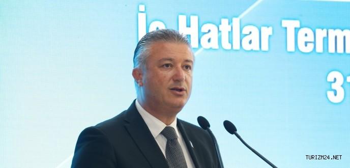 CEO Göral : Son 10 yılda havalimanını 9 kat geliştirdik