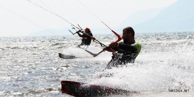 Dünya Kiteboard Türkiye ayağı Akyaka'da Gerçekleşecek