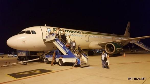 Edremit-Düsseldorf uçuşları start verdi