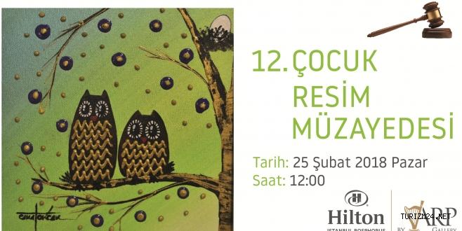 Hilton İstanbul Bosphorus ARP Gallery Müzayede Düzenliyor