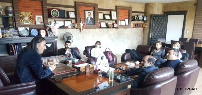 İranlı turizm yatırımcıları Tatvan da