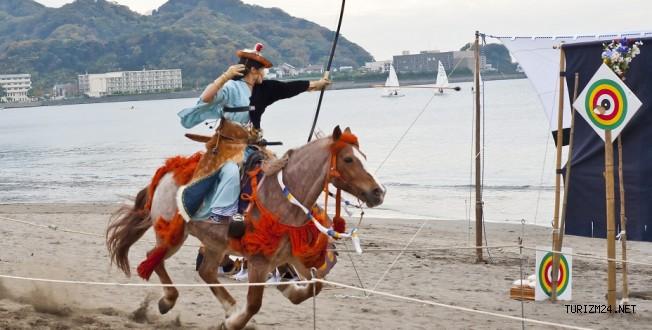 JAPON ATLI OKÇULARI ETNOSPOR KÜLTÜR FESTİVALİ İÇİN İSTANBUL'A GELİYOR