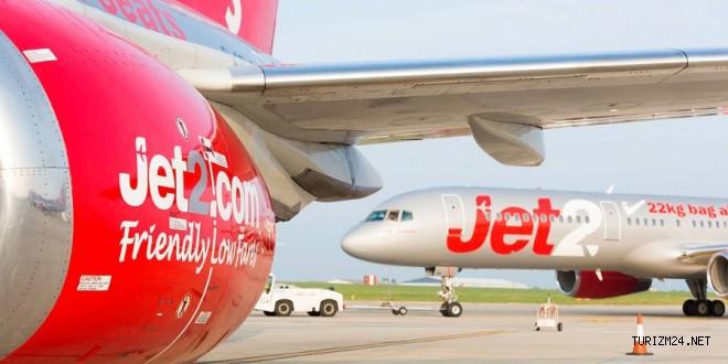 Jet2.com Türkiye için 70 bin koltuk ilavesi yapacak
