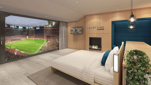 Marriott Hotels Stadyumlarda Oda Satacak