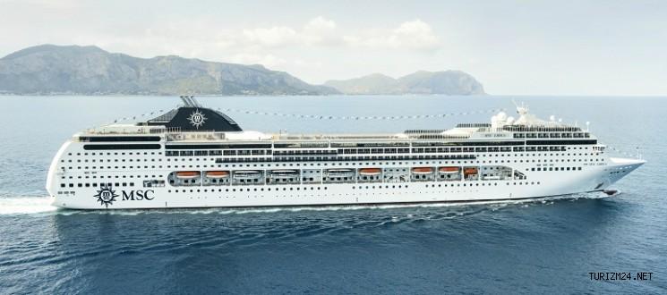 MSC CRUISES yine Antalya ve İzmir'i rotasına dahil ediyor