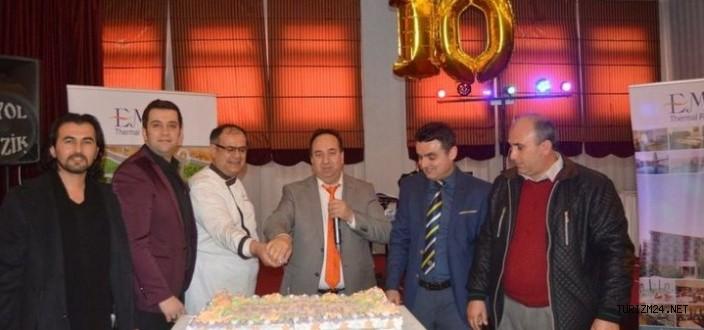 Termal Resort Otel 10. yılını kutladı