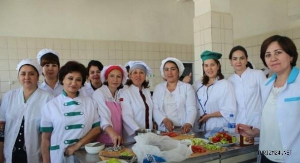 TİKA'dan Özbekistan'da turizm ve otelcilik  eğitimi