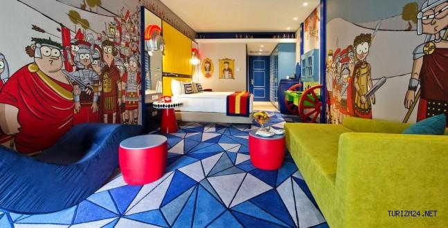 Türkiye'nin tek çocuk oteli: Kingdom