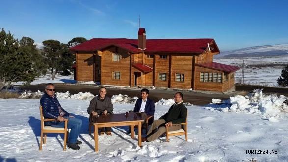 Yalnızçam Kayak Merkezi müşteri kabulüne başladı